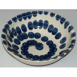 "salad-bowl 32 cm ""blue drops"""
