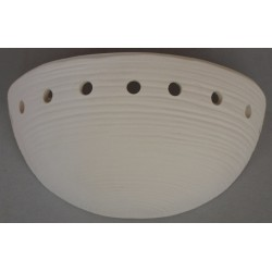 Ceramic sconce 14.27 holes...